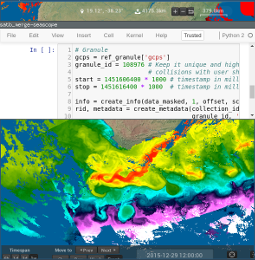 Screenshot of SEAScope being controlled by Python